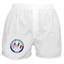 Italian american Pride Boxer Shorts