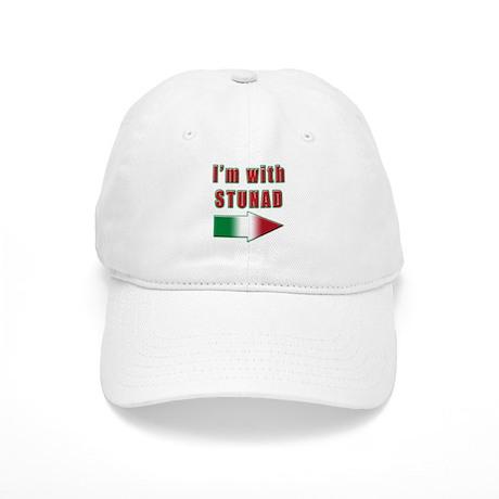 Italian Im with stunad arrow(white).png Cap