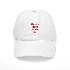 WHITE Boot.png Baseball Cap