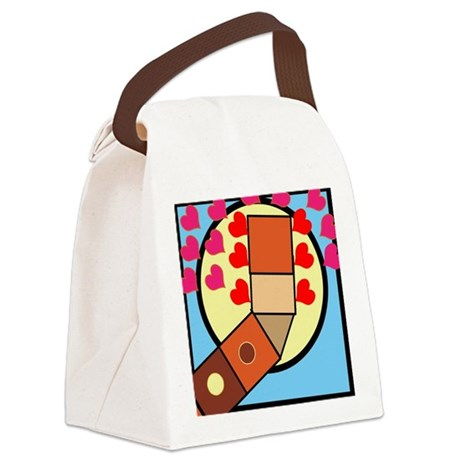 Chord Canvas Lunch Bag