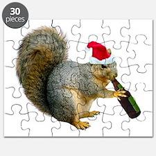 Santa Squirrel Beer Puzzle