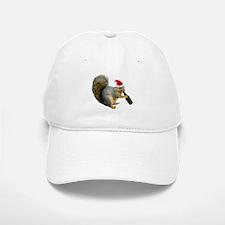 Santa Squirrel Beer Baseball Baseball Cap