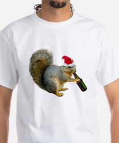 Santa Squirrel Beer Shirt