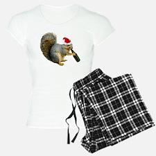 Santa Squirrel Beer Pajamas
