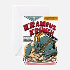 Krampus Krunch Greeting Card