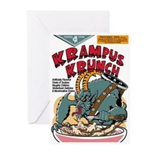 Krampus Krunch Greeting Cards (Pk of 10)