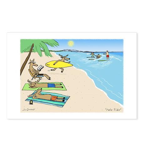 Yule Tide Postcards (Package of 8)