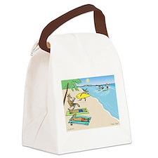 Yule Tide Canvas Lunch Bag
