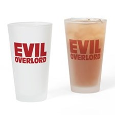 Evil Overlord Drinking Glass