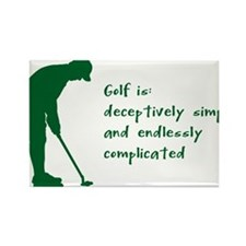 Golf Rectangle Magnet