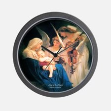 Song of the Angels 1881 Wall Clock