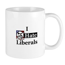 I Hate Liberals Mug