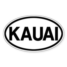 Kauai Bumper Stickers