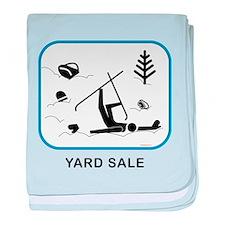 Yard Sale baby blanket
