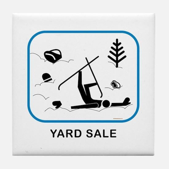 Yard Sale Tile Coaster