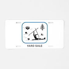 Yard Sale Aluminum License Plate