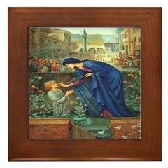 The Prioress' Tale Framed Tile