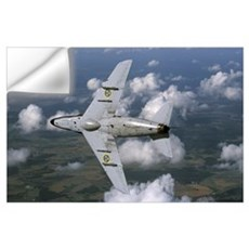 Saab J 32 Lansen fighter of the Swedish Air Force  Wall Decal