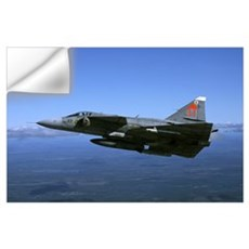 Saab JA 37 Viggen fighter of the Swedish Air Force Wall Decal