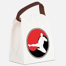 Martial Arts Yin Yang Canvas Lunch Bag