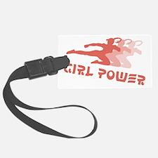 Girl Power Luggage Tag