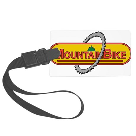 Mountain Bike Large Luggage Tag