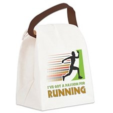 Passion for Running Canvas Lunch Bag