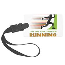 Passion for Running Luggage Tag