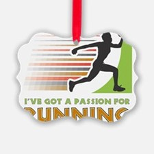 Passion for Running Ornament
