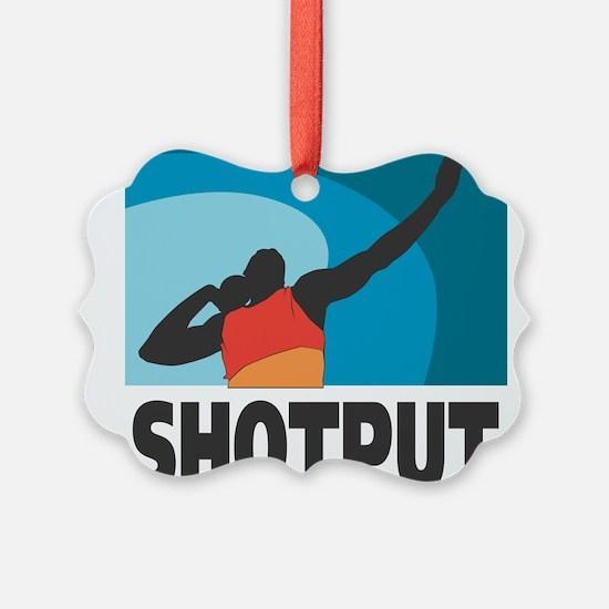Shotput Ornament