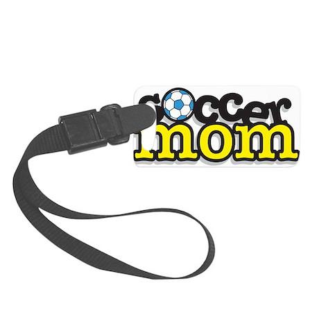Soccer Mom Small Luggage Tag