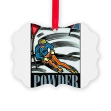 Powder Ornament