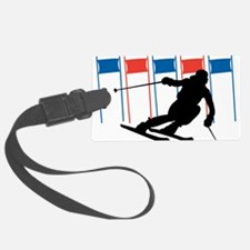 Ski Competition Luggage Tag