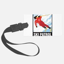 Ski Patrol Luggage Tag