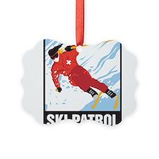 Ski Patrol Ornament
