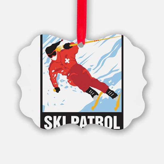 Ski Patrol Ornament