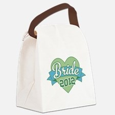 Bride Heart Banner 2012.png Canvas Lunch Bag