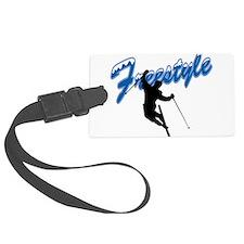 Freestyle Skiing Luggage Tag