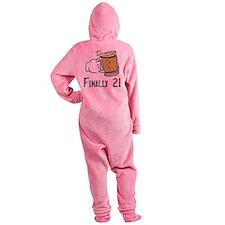 21 boy.png Footed Pajamas