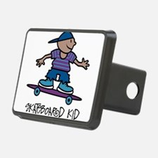 Skateboard Kid Hitch Cover