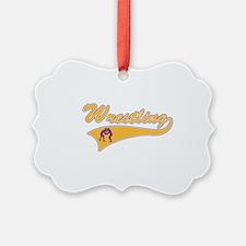 Wrestling 3 Ornament