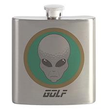 Alien Golf Flask