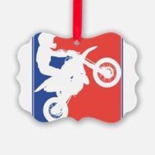 PeeWee Motocross Ornament