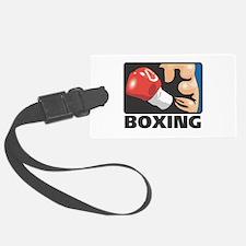 Boxing Luggage Tag