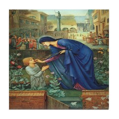 The Prioress' Tale Tile Coaster