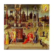 Augustus & The Sibyl Tile Coaster