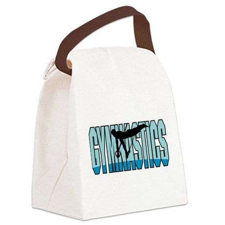 Gymnastics Canvas Lunch Bag