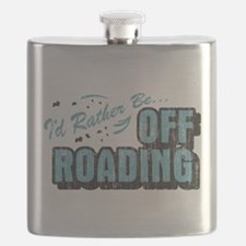 Id Rather Be Off Roading Flask