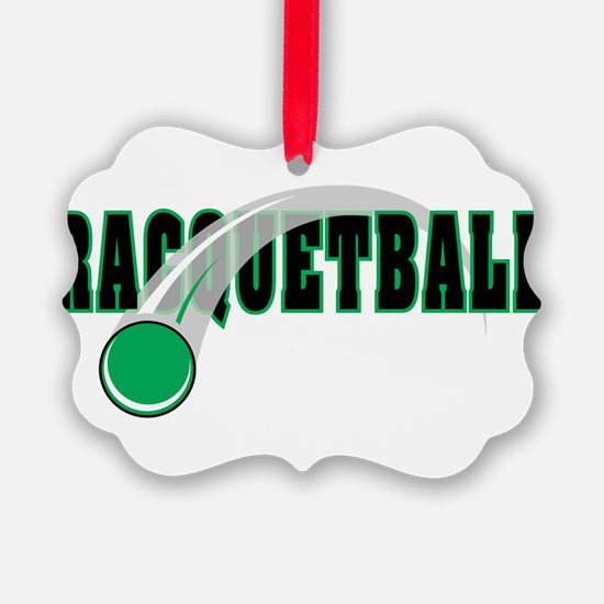 Racquetball 2 Ornament