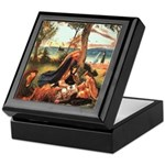 King Arthur in Avalon Keepsake Box
